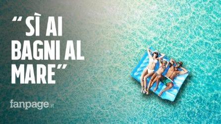 """Estate 2020, Petrosillo (Spallanzani): """"Sì ai bagni al mare, il covid non si trasmette in l'acqua"""""""
