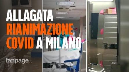 Allagata la rianimazione Covid del Policlinico di Milano: trasferiti i pazienti intubati