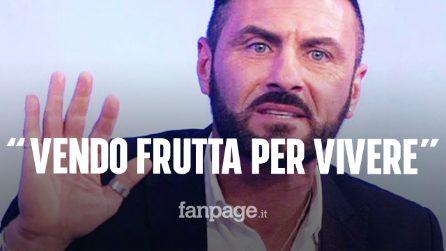 """Sossio Aruta si confessa: """"Per vivere vendo frutta al supermercato, ma non posso sopravvivere così"""""""