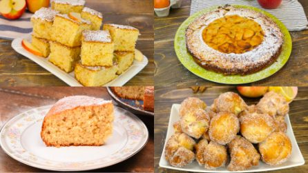 4 Ricette facili e golose da fare con le mele!