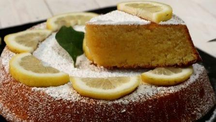 Caprese al limone: la ricetta del dessert soffice e delizioso