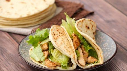Tortillas fatte in casa: come ottenerle morbide e saporite!