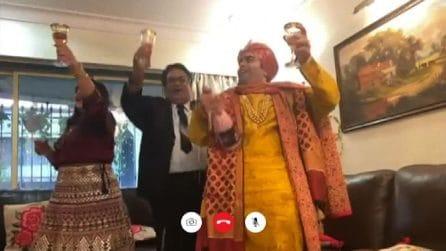 Con il lockdown anche le nozze indiane da favola sono virtuali