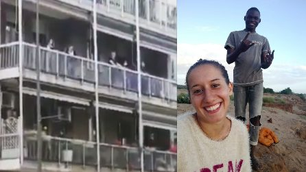 """Silvia Romano liberata, è grande festa a casa sua: """"Oh happy day"""""""