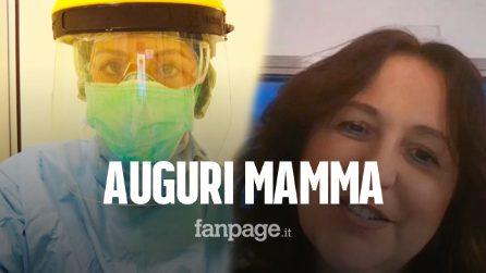 """Festa della mamma, il medico anti-Covid che lavora a Milano con la madre a Napoli: """"Mi manchi"""""""