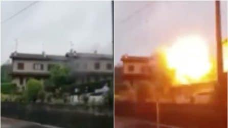 Villetta esplosa a Fino Mornasco: in un video il momento dello scoppio costato la vita a un ragazzo
