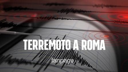 """Terremoto a Roma, scossa di magnitudo 3.3, i sismologi: """"Migliaia l'anno, non bisogna spaventarsi"""""""