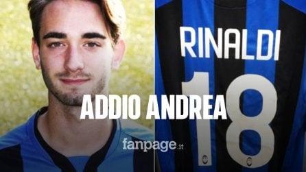 Morto Andrea Rinaldi: il calciatore 19enne dell'Atalanta portato via da un malore improvviso