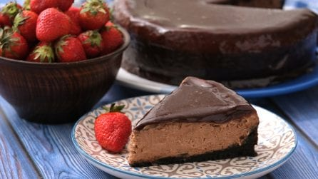 Nutella cheesecake: rich and creamy, this is you dream dessert!