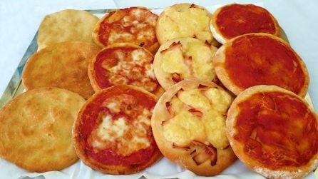 """Pizzette """"fatte a mano"""": la ricetta semplice e piena di gusto"""