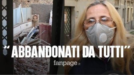 """Catania, palazzina crollata, la rabbia delle 14 famiglie sfollate: """"Abbandonati da 110 giorni"""""""