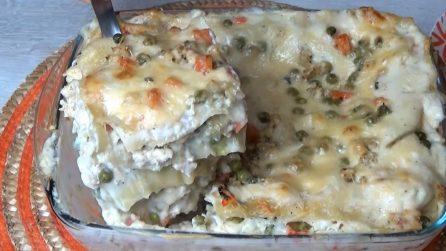 Lasagne di pollo: la ricetta del primo piatto ricco e saporito