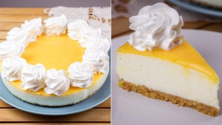 Lemon cheesecake: a fresh no-bake dessert to try right now!