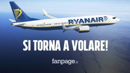 Ryanair dal 1 Luglio riparte con i voli: ecco le nuove misure da rispettare