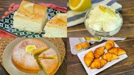 Se ti piace il limone, non puoi lasciarti sfuggire queste 5 ricette golose!