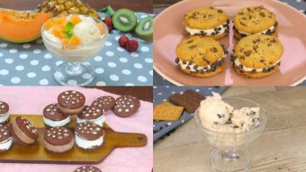 5 Ricette facili e veloci per fare il gelato in casa senza la gelatiera!