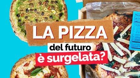 La pizza del futuro è surgelata? L'assaggio della pizza surgelata di Vincenzo Onnembo