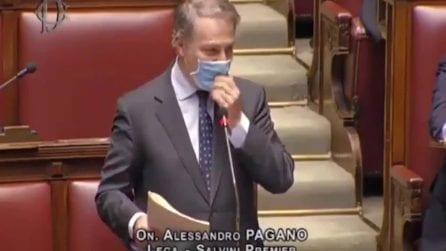"""Il deputato leghista Pagano, definisce Silvia Romano una """"neo terrorista"""""""