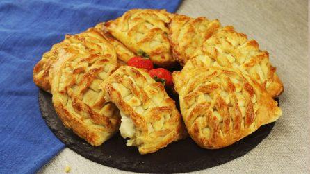 Biscotti ripieni di crema di formaggio: croccanti fuori e cremosi dentro!