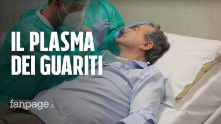 Napoli, al Cotugno i medici guariti dal Covid-19 donano il plasma iperimmune per curare i malati