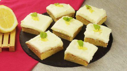 Brownies al limone: i dolcetti sfiziosi perfetti per una pausa fresca e gustosa!