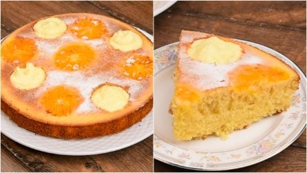 Orange and white chocolate cake: a delicious treat to try!
