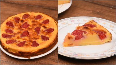 Clafoutis alle fragole: la ricetta del dolce cremoso e saporito!