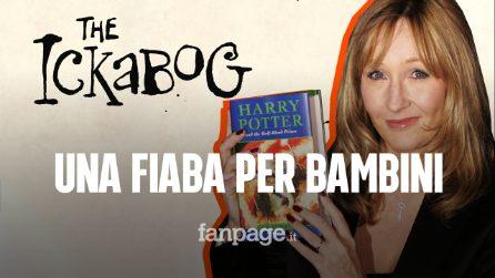 J.K. Rowling pubblica la fiaba per bambini 'The Ickabog': gratis sul suo sito
