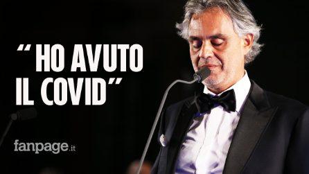 Andrea Bocelli positivo al coronavirus insieme a moglie e figli: dona il plasma per la ricerca