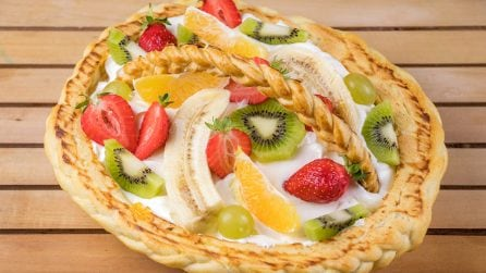 Fruit basket: a surprising dessert ready in a few steps!