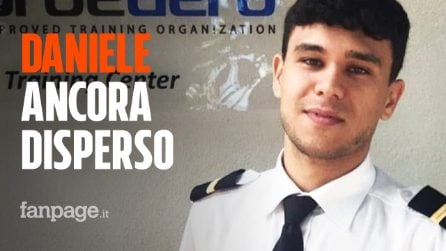 """Daniele Papa, l'allievo 23enne ancora disperso dopo l'incidente aereo: """"Non meritavi questo"""""""