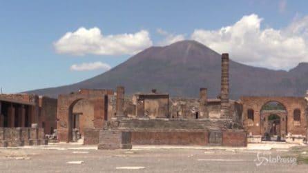 Viaggio tra le rovine di Pompei che attendono i turisti dopo il lockdown