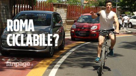 """Tombini, buche e macchine parcheggiate: """"Troppe le difficoltà sulle ciclabili romane"""""""