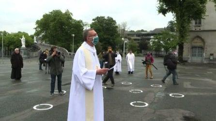 Riapre Santuario Lourdes, ma solo parzialmente e con mascherine