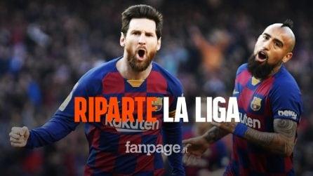 La Liga riparte: trovata l'intesa per giocare 7 giorni su 7, anche di lunedì