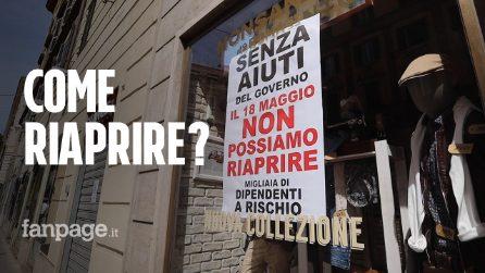 """Roma, il 18 maggio tante serrande restano giù: """"Senza aiuti non ce la facciamo"""""""