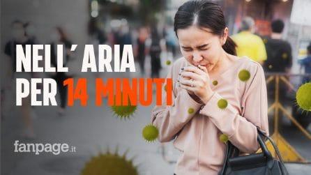 Parlare a voce alta può diffondere il coronavirus per 14 minuti