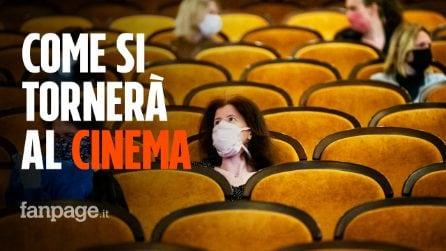 Niente pop corn e posti distanziati: ecco come torneremo al cinema dal 15 giugno