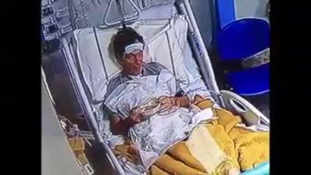 Lacrime di gioia al secondo tampone negativo, dimesso il primo paziente dal Covid Center