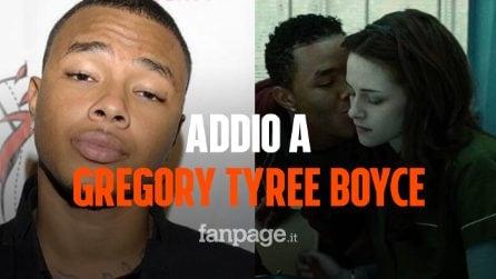 È morto Gregory Tyree Boyce, l'attore di Twilight aveva 30 anni