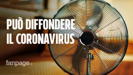 Anche i ventilatori possono favorire la diffusione del coronavirus