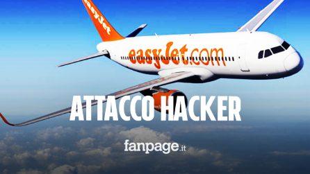 Attacco hacker a EasyJet: intercettati dati delle carte di credito dei viaggiatori