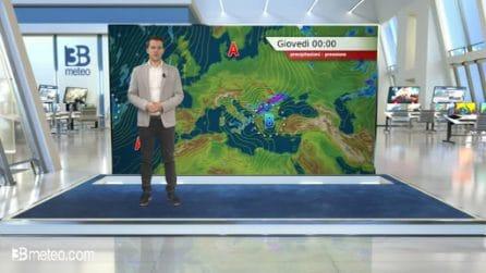 Previsioni meteo per giovedì 21 maggio 2020