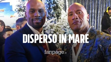 "Shad Gaspard disperso in mare. The Rock: ""È difficile, ma prego e spero ancora"""