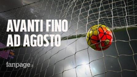 Avanti Serie A, B e C: l'obiettivo è finire i campionati. Si giocherà fino ad agosto