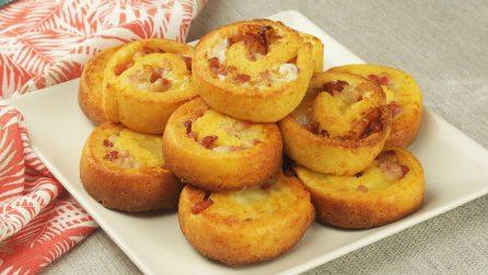 Rotolini al formaggio: perfetti per un antipasto o un aperitivo pieno di sapore!