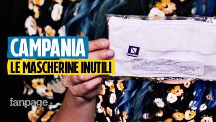 Campania, le mascherine distribuite dalla Regione non proteggono dal virus
