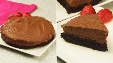 Cheesecake al cioccolato cremosa: la torta golosa che conquisterà tutti!