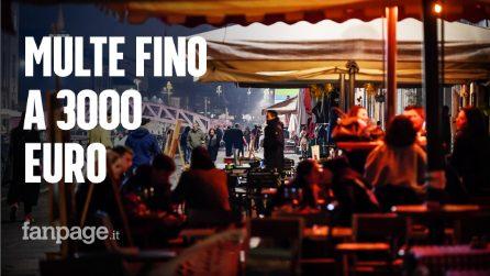 Guerra alla movida, multe fino a 3mila euro per gli assembramenti: ora i locali rischiano lo stop
