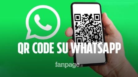 Su WhatsApp arrivano i QR code dei profili: ecco come funzionano